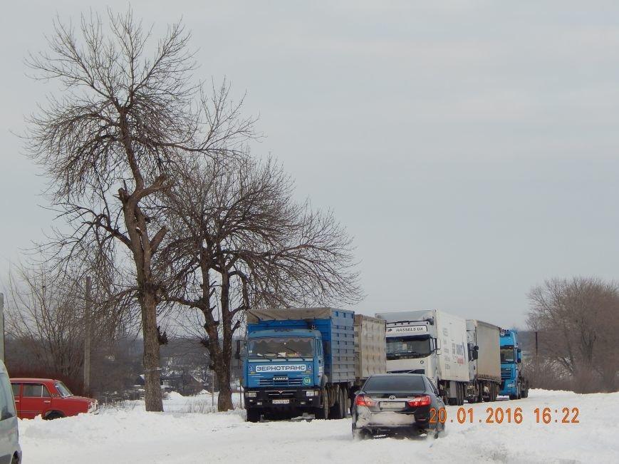 Днепродзержинские полицейские помогли извлечь автомобили из снежной ловушки (фото) - фото 6