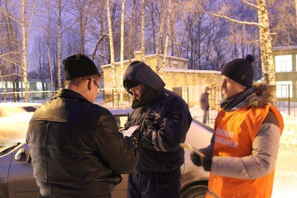В Твери студенты попробовали себя в роли инспекторов ДПС (фото) - фото 4