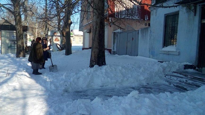 Неубранный снег влетит николаевским предприятиям в копеечку (ФОТО) (фото) - фото 2