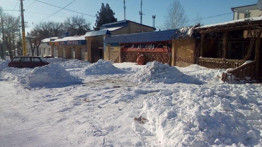 Неубранный снег влетит николаевским предприятиям в копеечку (ФОТО) (фото) - фото 1