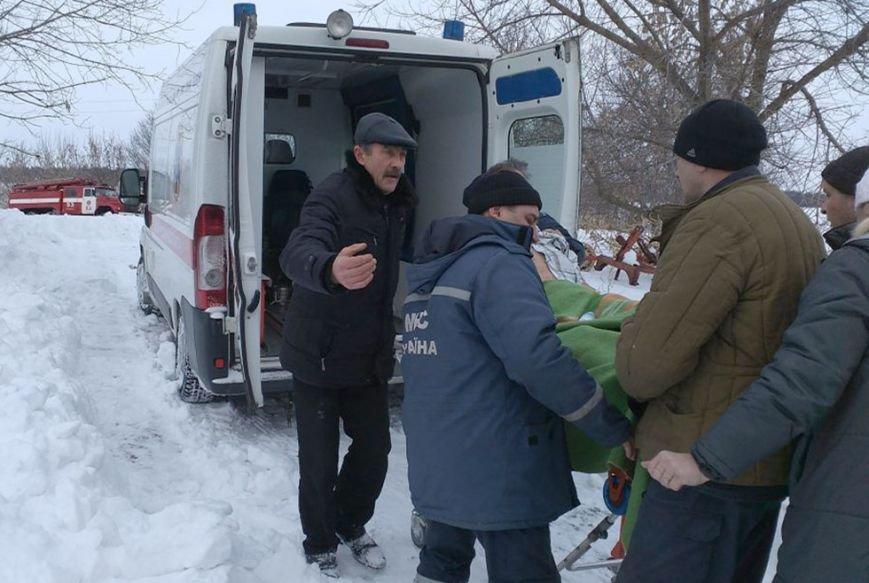 На Днепропетровщине спасатели помогли «скорой» госпитализировать больного (ФОТО) (фото) - фото 2