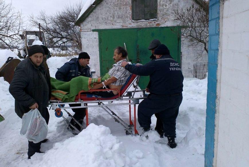 На Днепропетровщине спасатели помогли «скорой» госпитализировать больного (ФОТО) (фото) - фото 1