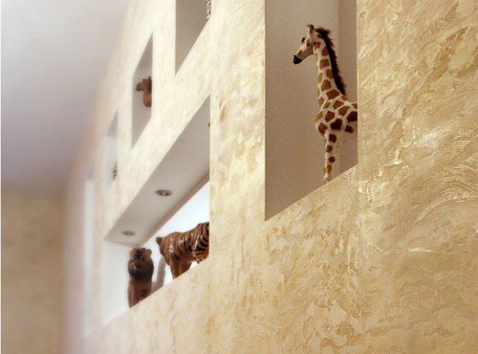 Декоративная штукатурка – красиво, уютно, практично (фото) - фото 1