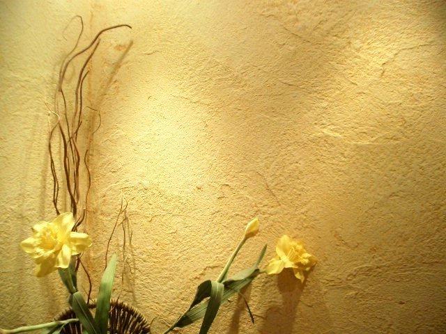 Красивый дизайн стен с декоративной штукатуркой (фото) - фото 1
