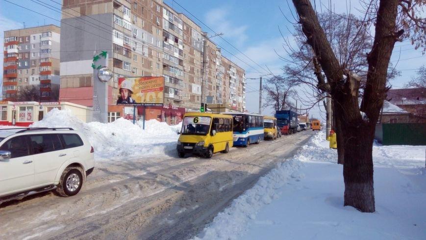 В Кировограде из-за неисправного грузовика образовалась огромная пробка. (ФОТО), фото-8