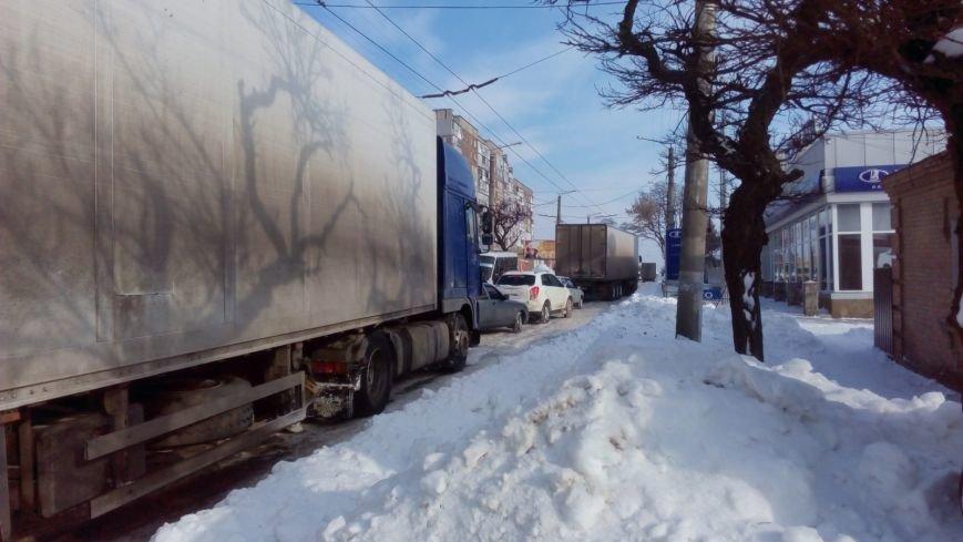 В Кировограде из-за неисправного грузовика образовалась огромная пробка. (ФОТО), фото-3