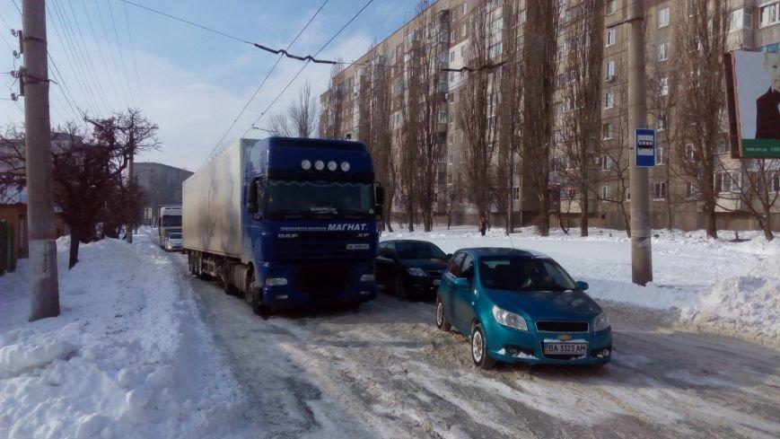 В Кировограде из-за неисправного грузовика образовалась огромная пробка. (ФОТО), фото-5