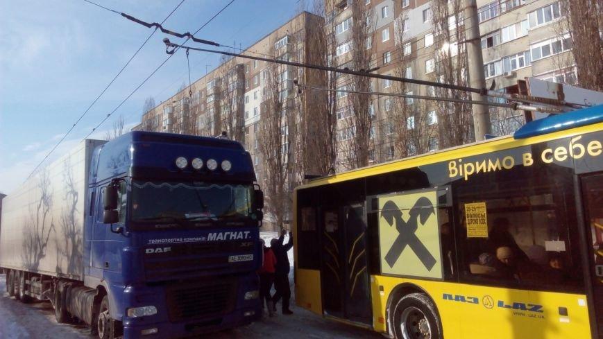 В Кировограде из-за неисправного грузовика образовалась огромная пробка. (ФОТО), фото-10
