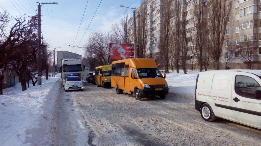 В Кировограде из-за неисправного грузовика образовалась огромная пробка. (ФОТО), фото-2
