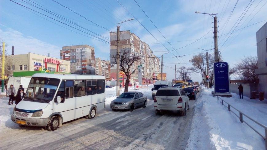 В Кировограде из-за неисправного грузовика образовалась огромная пробка. (ФОТО), фото-7
