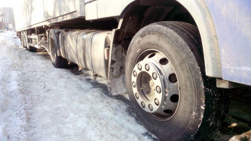 В Кировограде из-за неисправного грузовика образовалась огромная пробка. (ФОТО), фото-9