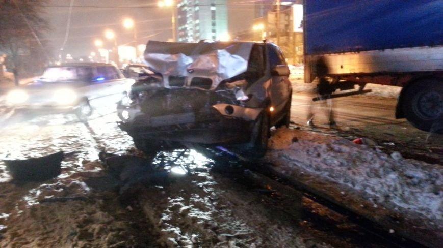 На Берестейской произошло ДТП с трамваем, фурой и BMW (ФОТО), фото-4