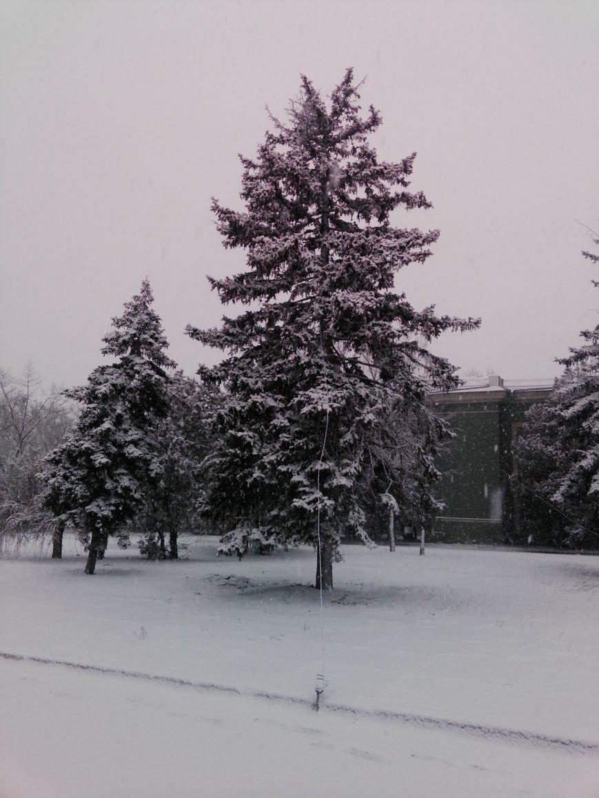Снегопад в Бердянске (Фоторепортаж), фото-15