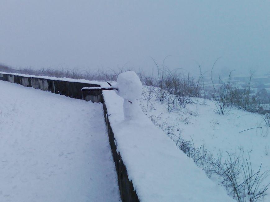 Снегопад в Бердянске (Фоторепортаж), фото-14