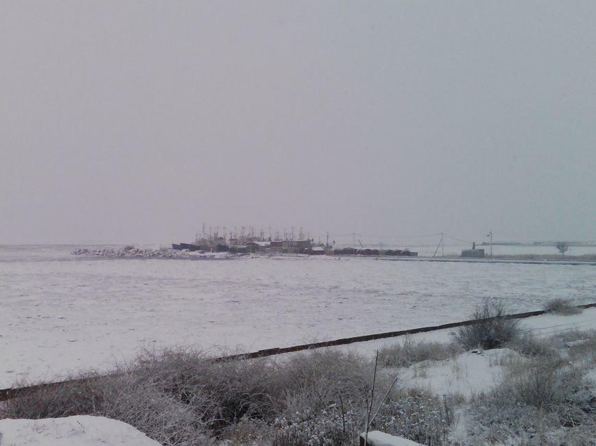 Снегопад в Бердянске (Фоторепортаж), фото-6