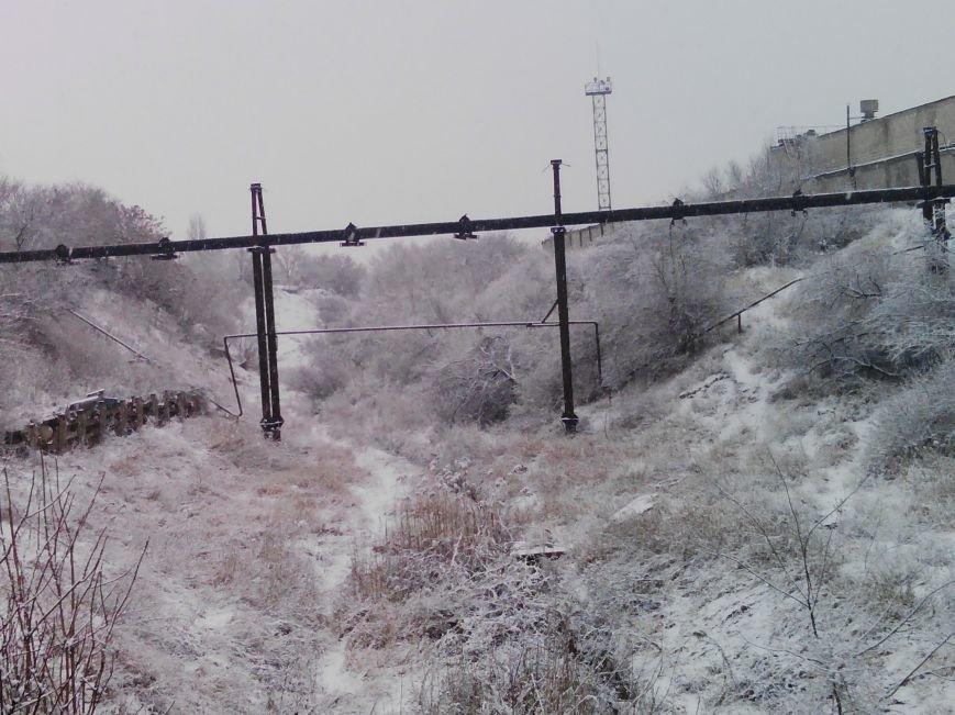 Снегопад в Бердянске (Фоторепортаж), фото-5