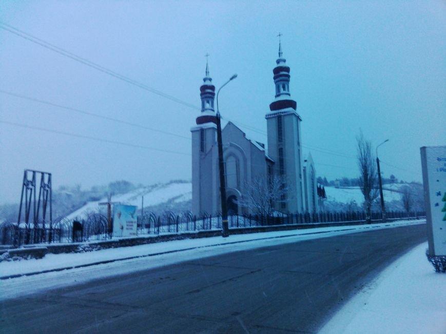 Снегопад в Бердянске (Фоторепортаж), фото-10