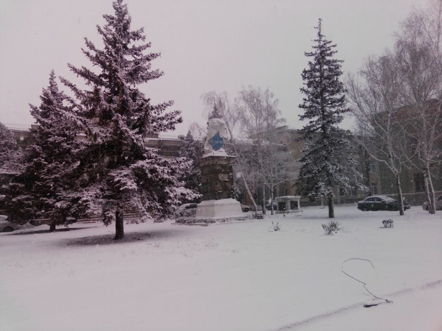 Снегопад в Бердянске (Фоторепортаж), фото-4