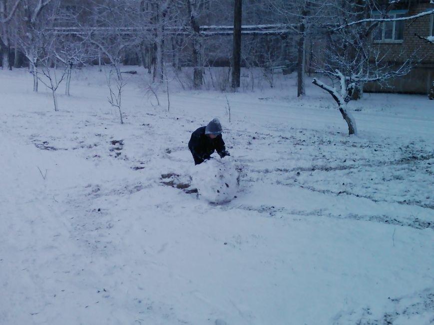 Снегопад в Бердянске (Фоторепортаж), фото-11