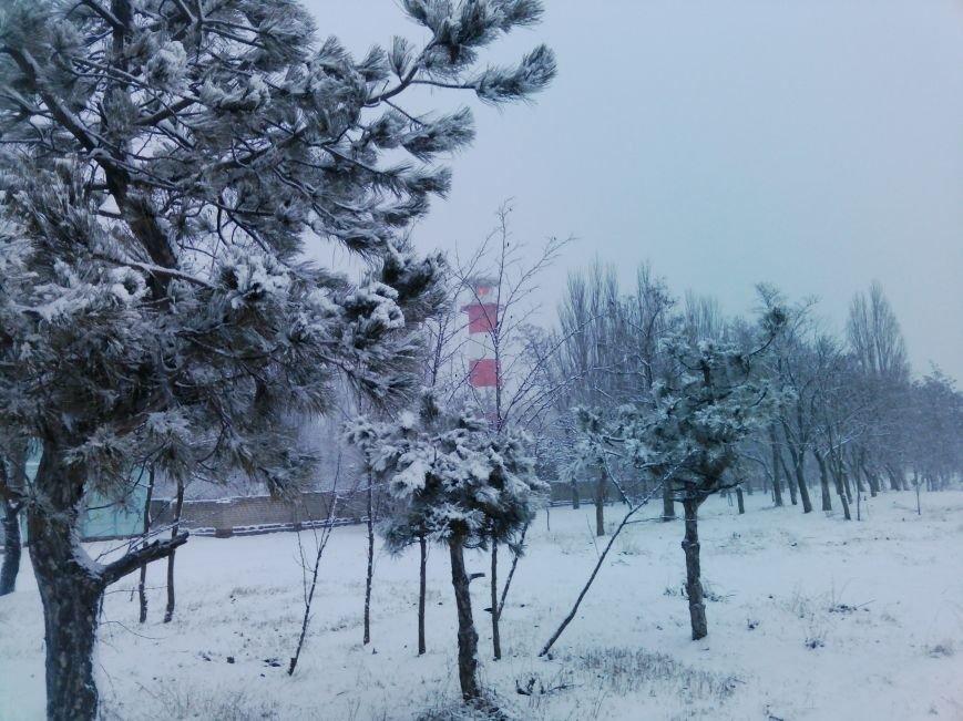 Снегопад в Бердянске (Фоторепортаж), фото-18