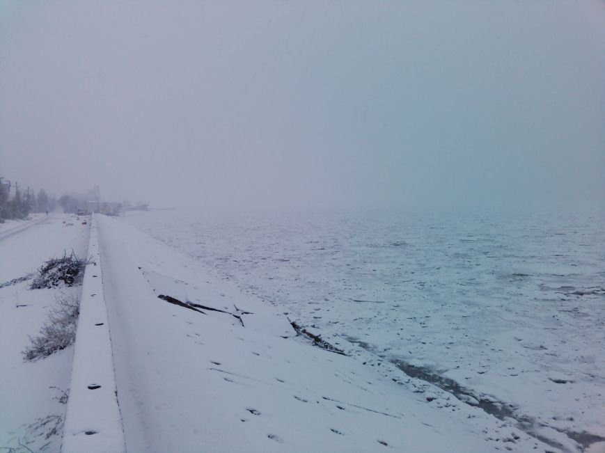 Снегопад в Бердянске (Фоторепортаж), фото-7