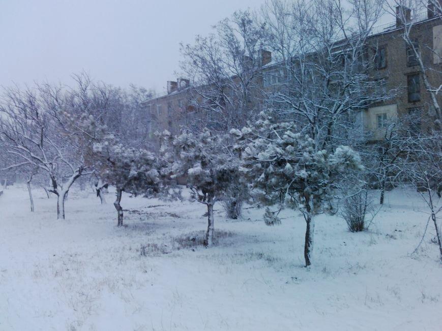 Снегопад в Бердянске (Фоторепортаж), фото-17