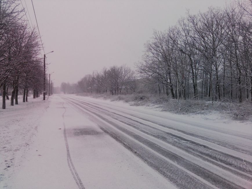 Снегопад в Бердянске (Фоторепортаж), фото-2