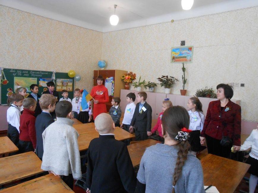 В Днепродзержинске студенты поздравили школьников с Днем Соборности (фото) - фото 9