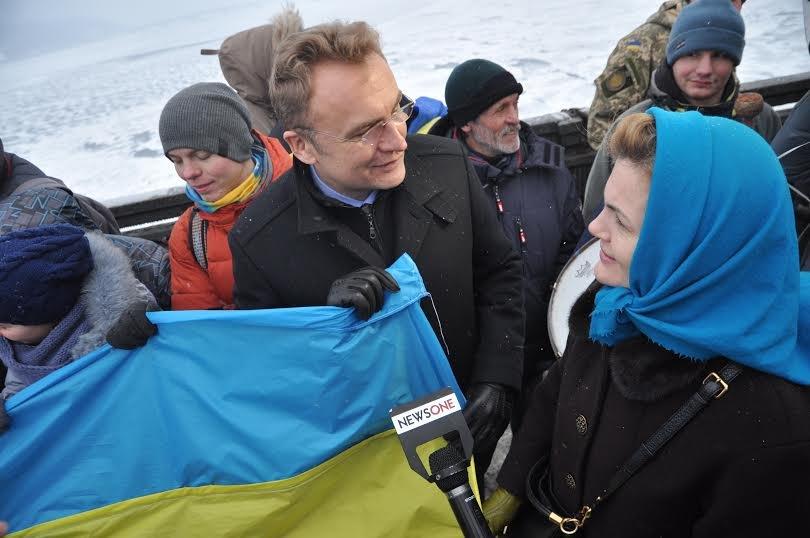 У День Соборності України Садовий поїхав до Києва (ФОТО), фото-4
