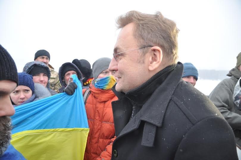 У День Соборності України Садовий поїхав до Києва (ФОТО), фото-2