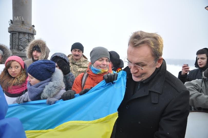 У День Соборності України Садовий поїхав до Києва (ФОТО), фото-3