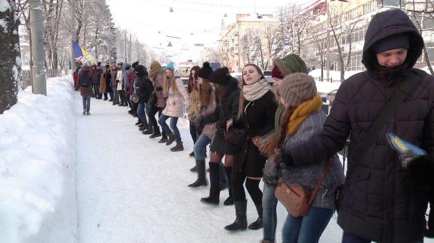 Сумчане объединились во имя соборности Украины (ФОТО) (фото) - фото 1