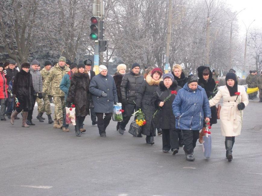 На Аллее Славы в Павлограде установили флагшток и мемориальный камень. ФОТО, фото-6