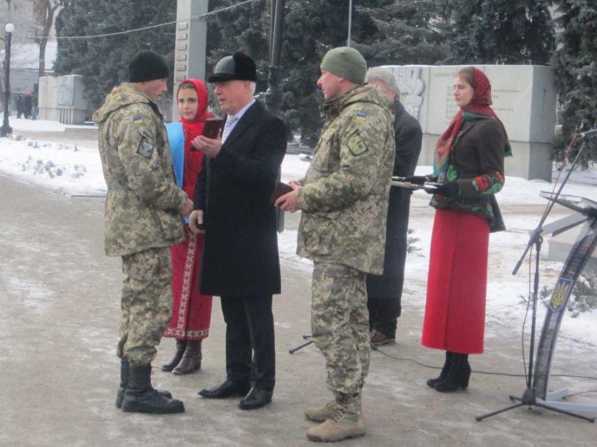 На Аллее Славы в Павлограде установили флагшток и мемориальный камень. ФОТО, фото-4