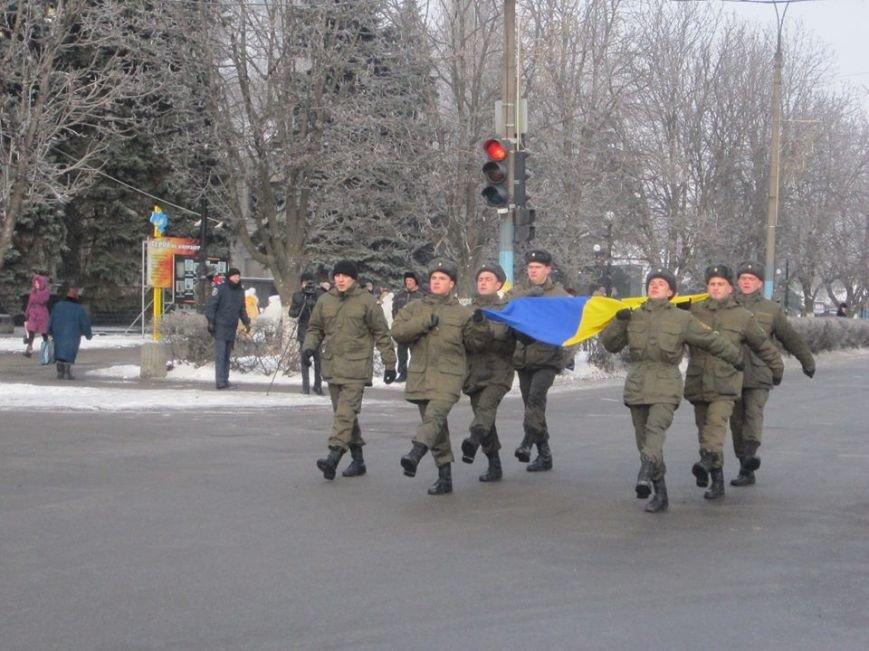 На Аллее Славы в Павлограде установили флагшток и мемориальный камень. ФОТО, фото-1