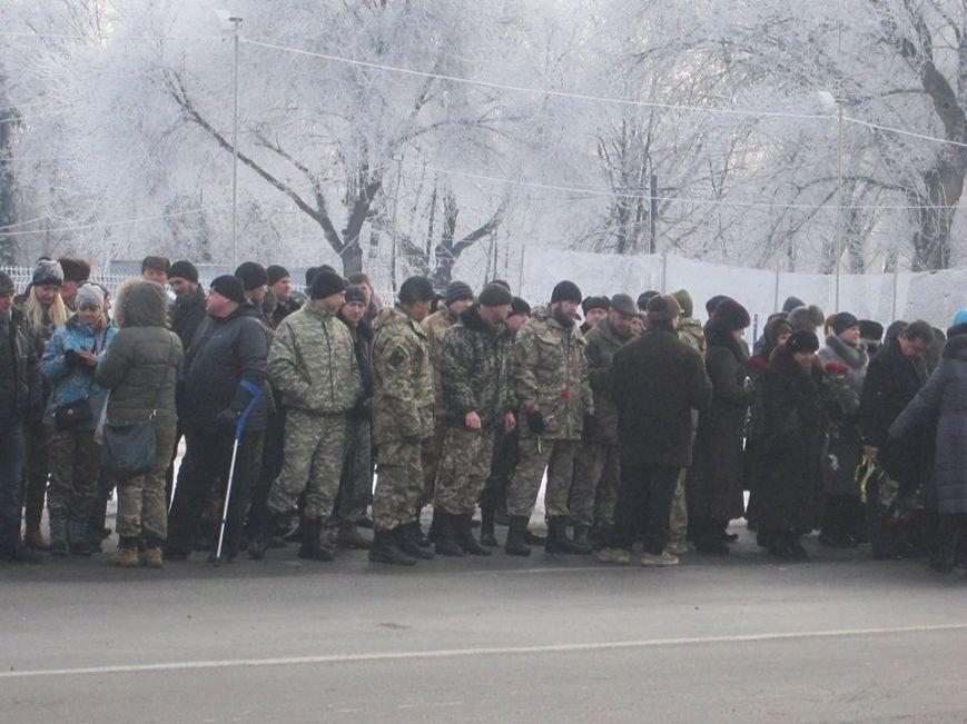 На Аллее Славы в Павлограде установили флагшток и мемориальный камень. ФОТО, фото-5