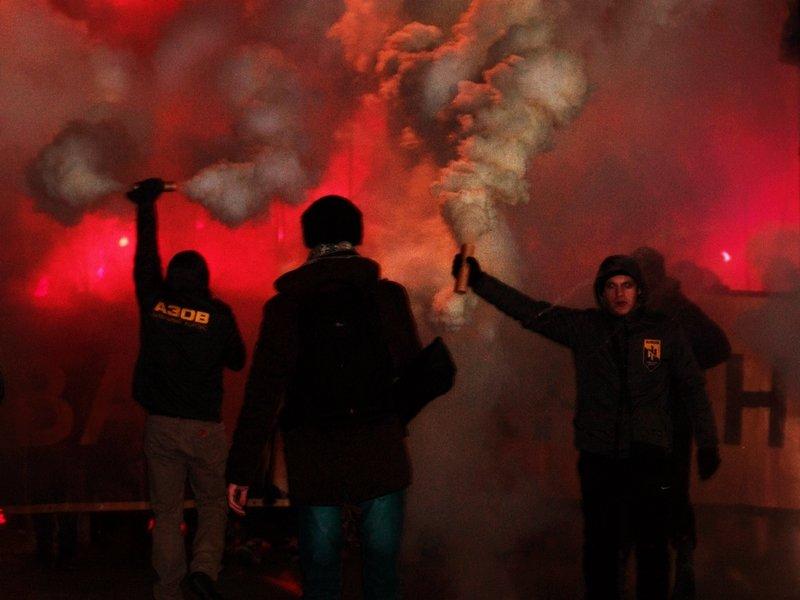 День Соборности  в Мелитополе отметили факельным шествием, - ФОТО (фото) - фото 3