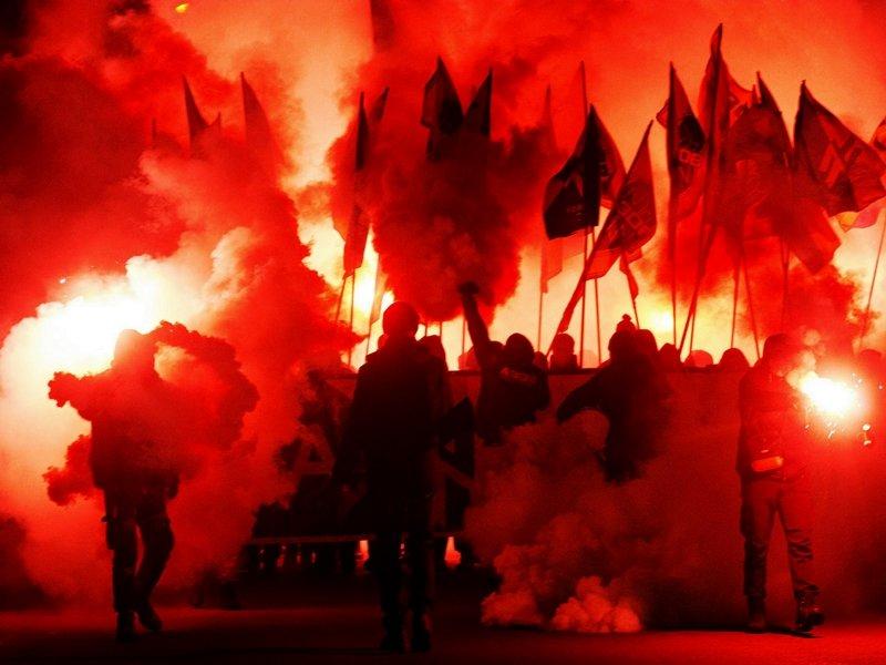 День Соборности  в Мелитополе отметили факельным шествием, - ФОТО (фото) - фото 5