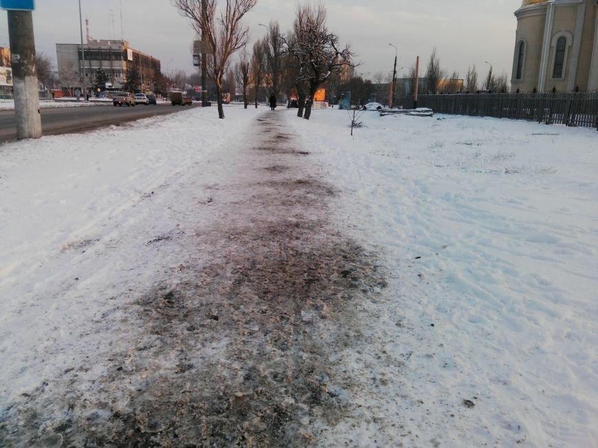 Как справляются бердянские коммунальщики с последствиями снегопада (ФОТОРЕПОРТАЖ), фото-5