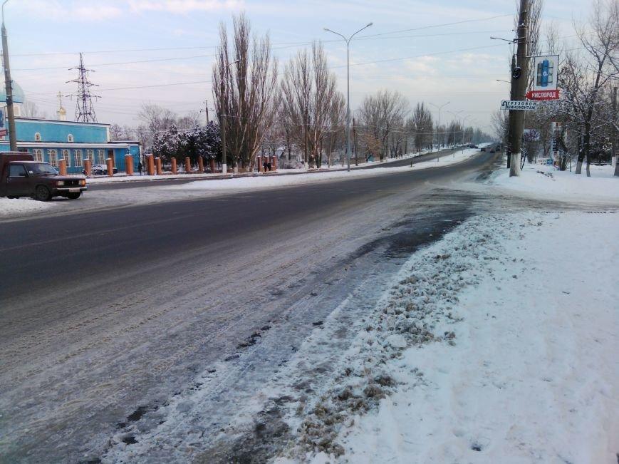 Как справляются бердянские коммунальщики с последствиями снегопада (ФОТОРЕПОРТАЖ), фото-3