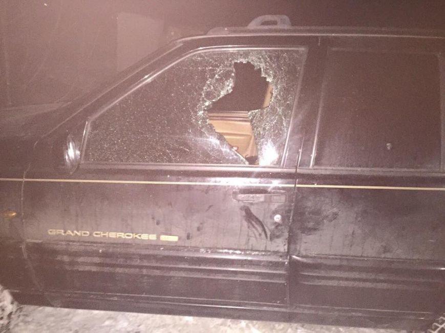 Стрельба на Днепропетровщине: наркоделец пытался скрыться от правоохранителей (ФОТО) (фото) - фото 1