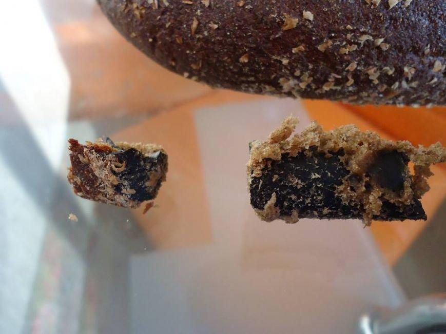 Павлоградец нашел в хлебе местного завода... куски шланга, фото-4