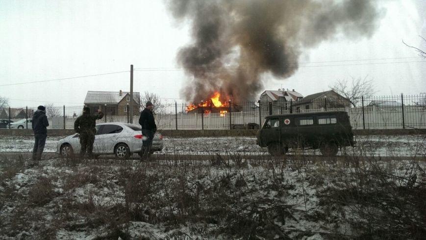 В пригороде Симферополя сгорел дом (ФОТО) (фото) - фото 1