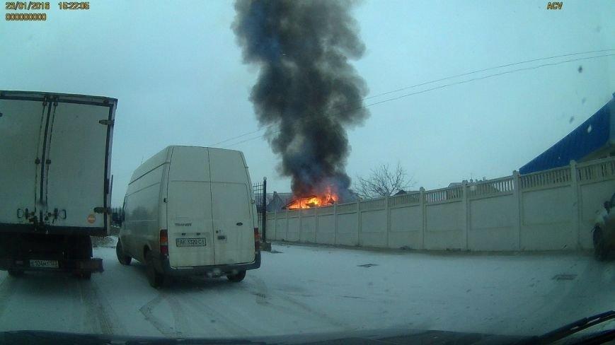 В пригороде Симферополя сгорел дом (ФОТО) (фото) - фото 2