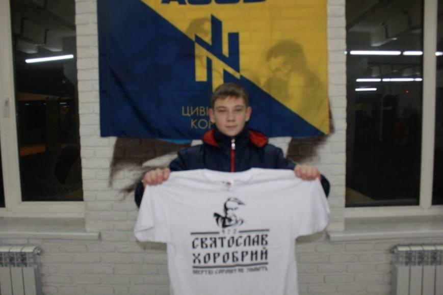 Мариуполец получил футболку за фото со Святославом (ФОТО) (фото) - фото 1