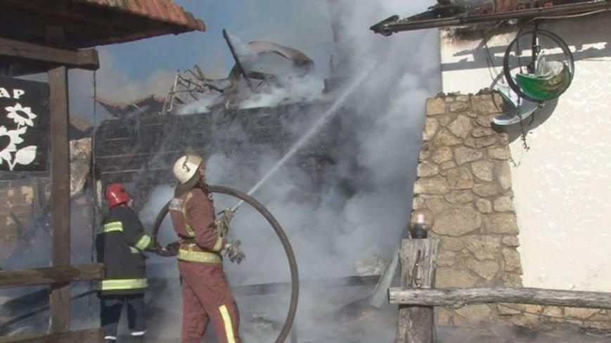 На Львівщині сталася пожежа у ресторані: подробиці (ФОТО), фото-3