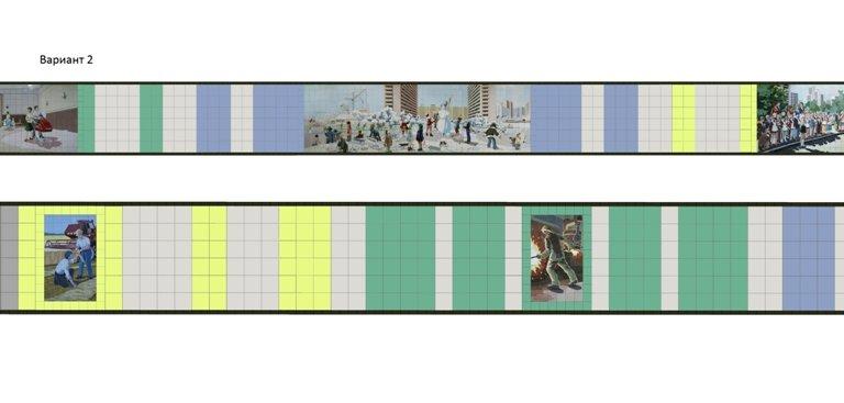 Ростовчане смогут выбрать цвет стен в переходе на Садовой/Ворошиловском (фото) - фото 2