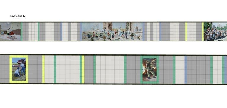 Ростовчане смогут выбрать цвет стен в переходе на Садовой/Ворошиловском (фото) - фото 6