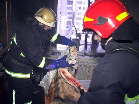 Вчора у Хмельницьому на Львівському шосе горіла квартира (Фото) (фото) - фото 1