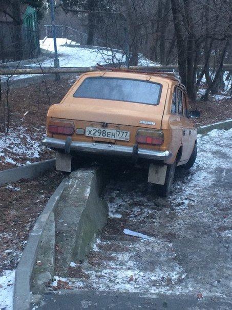 В снегопад в Ялте не обошлось без автомобильных аварий (фото) - фото 2